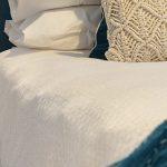 linge de lit percale de coton