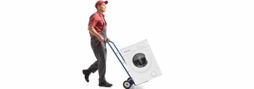 déménagement machine à laver - lave linge