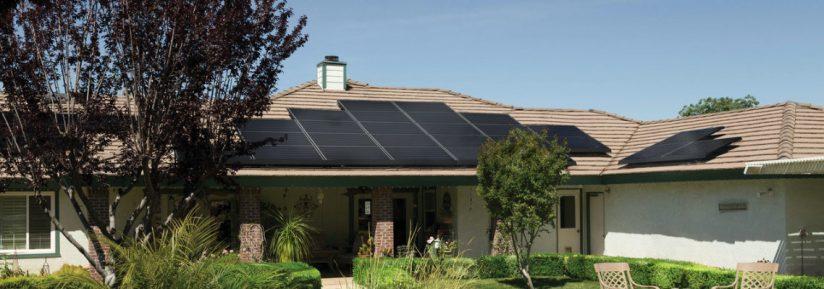 Chauffage solaire de maison