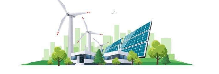 Comparatif d'énergie verte
