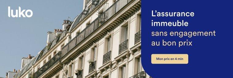 Luko assurance copropriété immeuble