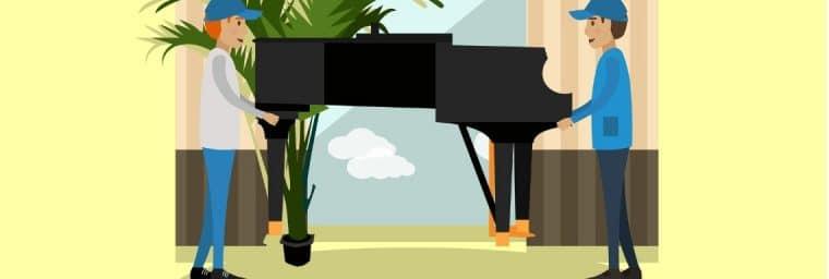 prix d'un déménagement de piano