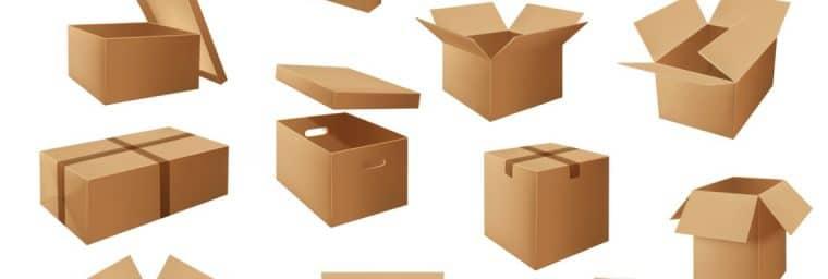 types de cartons de déménagement pas cher
