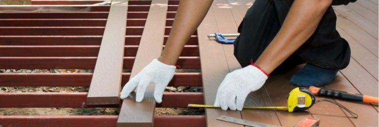 Installation terrasse bois professionnel