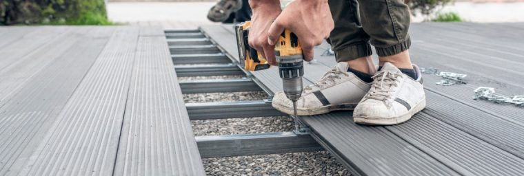 installation terrasse bois composite