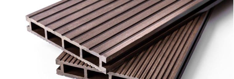 lames terrasse en bois composite
