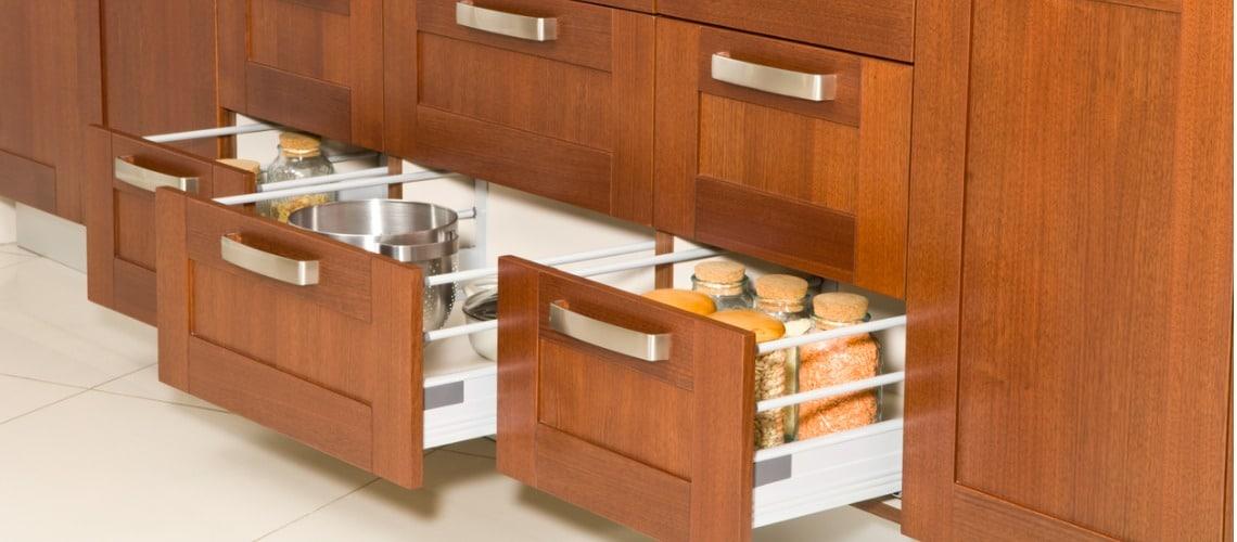 cuisine aménagée tiroirs