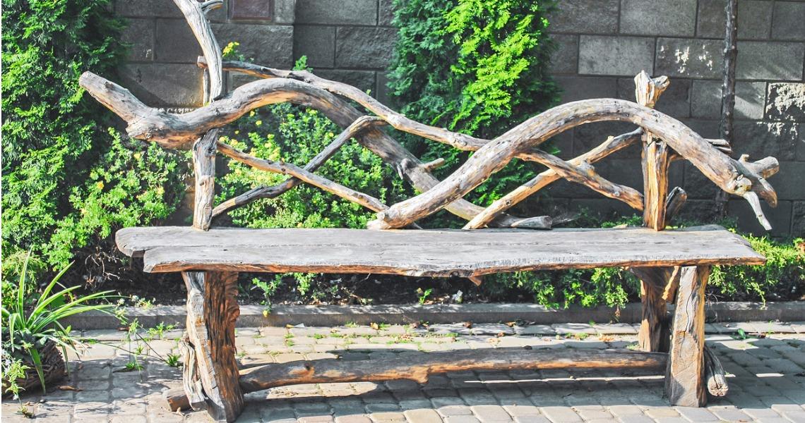 banc de jardin DIY
