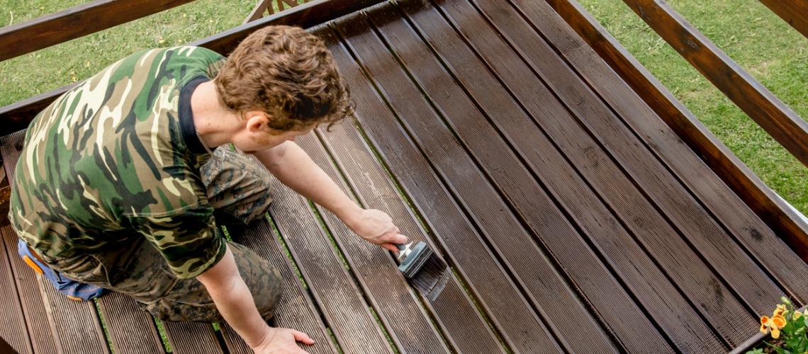 entretien terrasse suspendue